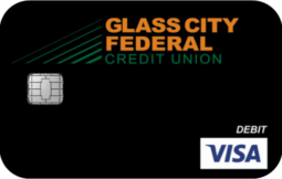 photo of a Glass City Federal Credit Union Debit Card