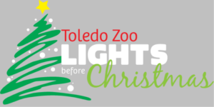 Toledo Zoo Lights Before Christmas Logo