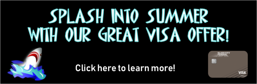 Splash into summer with our great visa offer!