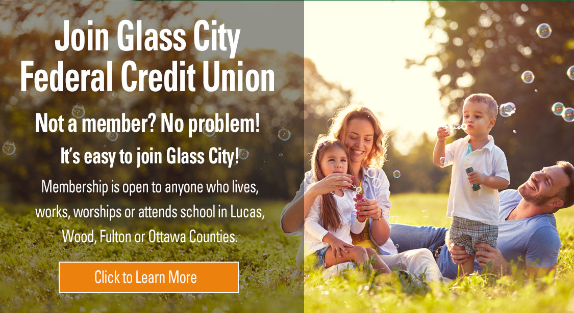Join Glass City Federal Credit Union