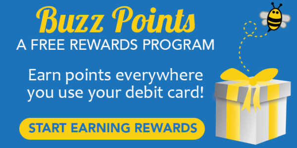 Buzz Points, a free rewards program