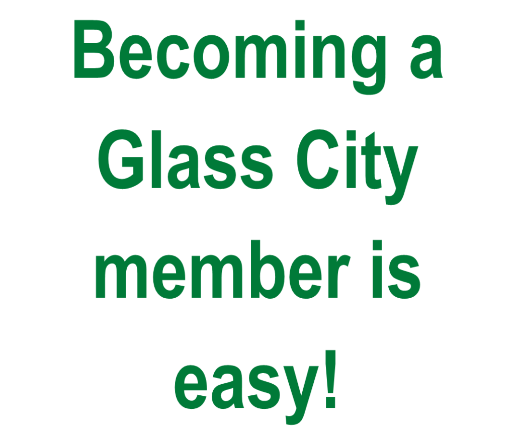 becoming a glass city member is easy