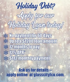 Holiday Debt? Apply for our Holiday Loan Today!