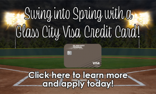 Swing into Spring with a Glass City Visa Credit Card Offer!